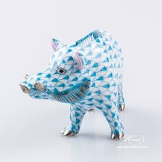 Herend fine china or porcelain animal figurine is manufactured with the most advanced and eco-technology