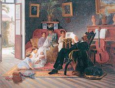 José Ferraz de Almeida Junior – Cena de Família de Antonio Augusto Pinto, 1891
