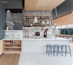 English Lesson: Grzywinski + Pons Designs Urban Villa in Lon | Companies | Interior Design. Ceiling panels in cork or Baltic birch in the bar.