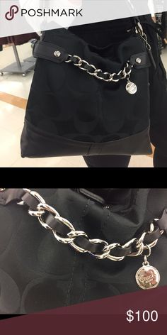 Black coach bag! Used handful of times! Perfect condition! Coach Bags