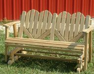 Patterns for Outdoor Benches | Porch Swings, Benches, Saddle Racks and Other Amish Made Patio ...
