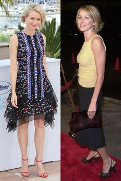 Naomi Watts made her red carpet debut at the Under Suspicion premiere in 2000. See 44 other celebrities' first big events.
