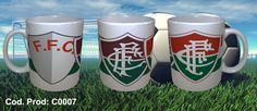 Canecas Times de Futebol - Fluminense