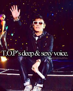 YAAAAS!!! His voice is like silk!!!! *swoons*