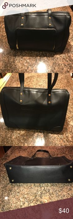 Black bag PERFECT black bag. Perfect condition.  NWOT. Never used. Make an offer! Bags Laptop Bags