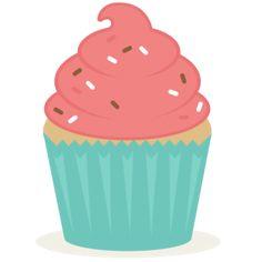 Cupcake SVG scrapbook cut file cute clipart files for silhouette cricut pazzles free svgs free svg cuts cute cut files