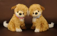 Christmas puppies by Cheryl Hutchinson of Bingle Bears  www.binglebears.net