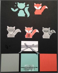 A Little Foxy punched images - Stamps-N-Lingers