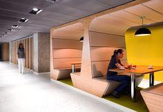 Không gian làm việc đa dạng, với phong cách độc đáo cho nhân viên cảm giác thoải mái như ở nhà