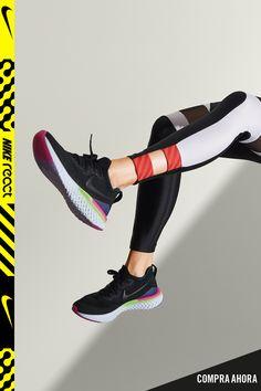free shipping 14a59 8283b Presentamos las nuevas Nike Epic React Flyknit 2 ultrasuaves y  superreactivas. Nuevas Nike, Zapatos