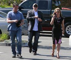 Celeb Diary: Britney Spears & David Lucado in Los Angeles