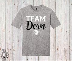 Team Dean, T Shirt, Tee Shirt, Tee - christmas gift - Gilmore Girls Shirt - Lukes Diner Coffee mug shirt - personalized gift