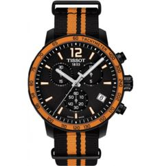 The uniqueness of this watch lies in its simple dial and colourful bezel design, but more particularly, in its trendy NATO straps. Box Tops, Nato Strap, Chronograph, Ebay, Jewels, Watches, Orange, Accessories, Sporty