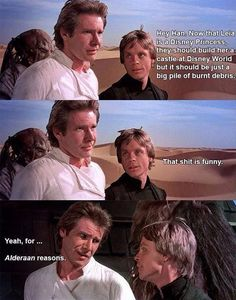 Han Solo Is A Pun Maestro