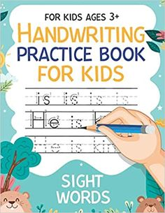 Handwriting Practice Book for Kids Sight Words for Kids Ages 3+: Workbook 8, 5x11 inches: Publishing, Carrizales: 9798664259117: Amazon.com: Books Kids Sight Words, Cute Journals, Handwriting Practice, Kindle App, First Order, Age 3, Machine Learning, Work Hard, This Book