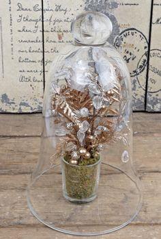 $11.99 Glass Bell Jar 9.5in