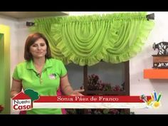 Window Swags, Window Cornices, Swag Curtains, Curtains And Draperies, Drapery, Valance Patterns, Easy Crafts For Teens, U Tube, Curtain Designs