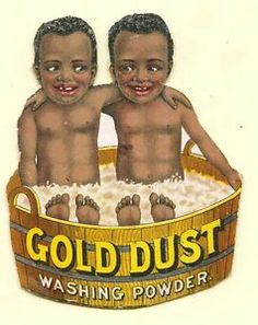 1800 advertisements | ... Dust Washing Powder late 1800's advertising trade card - printer error