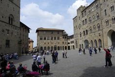 Volterra - A medieval Tuscan town with narrow alleyways and great views across the sprawling countryside