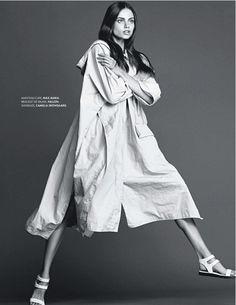 visual optimism; fashion editorials, shows, campaigns & more!: basique instinct: aiste regina kliveckaite by jimmy backius for elle france 7...