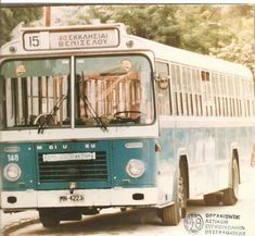 Old Greek, Busses, Thessaloniki, Macedonia, Public Transport, Vintage Beauty, 1980s, Motorcycles, History