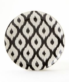 Look at this #zulilyfind! Ikat Bella Salad Plate - Set of Four #zulilyfinds