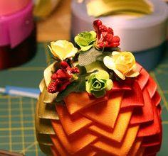 Beautiful egg ornament