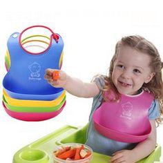 2016 new design Baby bibs waterproof TPE feeding baby saliva towel newborn Kids cartoon waterproof aprons Baby Bibs F15 #Affiliate