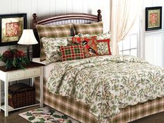 Holly Berry Bedding