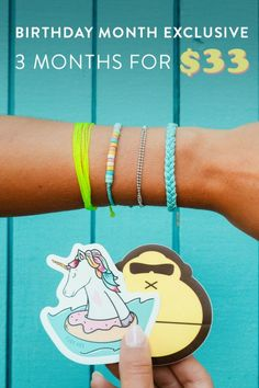 Pura Vida Bracelets, Instagram Influencer, Birthday Month, Best Gifts, Sun Bum, Awesome Gifts, 3 Months, Vsco, Swag