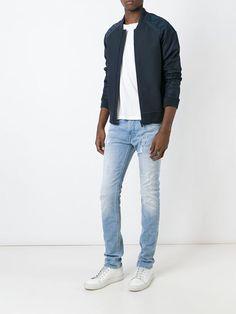 Love this by DIESEL Distressed Slim Fit Jeans - $182