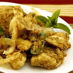 Vietnamese Lemongrass Spicy Chicken