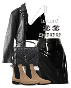 """Untitled #3791"" by theeuropeancloset ❤ liked on Polyvore featuring River Island, Christopher Kane, Jean-Paul Gaultier, Yves Saint Laurent and Maison Margiela"