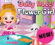 Baby Hazel Flower Girl, Dama a la Boda de su Tía Lisa, http://www.babyhazelworld.com/game/baby-hazel-flower-girl-es/