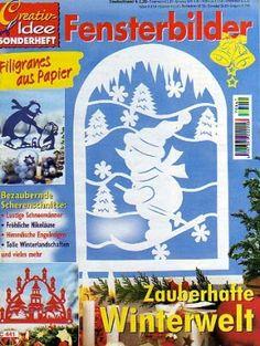 Creativ Idee - Fensterbilder Zauberhafte Winterwelt - Muscaria Amanita - Picasa Webalbumok Free Magazines, Album, Paper Cutting, Holiday Crafts, Crafts To Make, Snowflakes, Crafty, Creative, Christmas