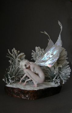 Beautiful winter faerie by Nicole West