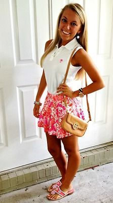 45 Best Women's Country Club Fashion images | Blouse ...