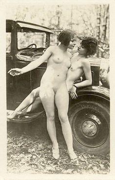 Vintage lesbisk nudes