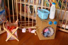 Fabriquez une machine à laver pour les petits!   Trucs et Bricolages