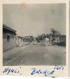Old Nyali Bridge Lamu Kenya, Nairobi, Mount Kenya, Mombasa, East Africa, Historical Photos, Colonial, Past, Bridge