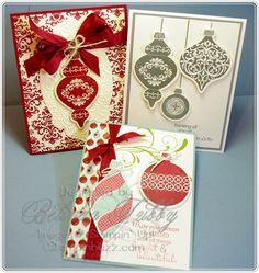 #SU Holiday Keepsake Ornaments