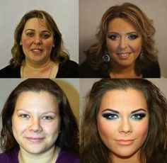Photos That Reveal The Shocking Power Of Makeup 7 - https://www.facebook.com/diplyofficial