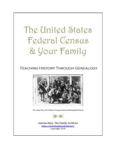 Discover your family in the United States Federal Census. Learn about the origin of the census, its purpose, and how it has changed over the years. Then search census records for yourself to uncover your family's story. Along the way you will learn about their homes, employment, neighbors, and more.