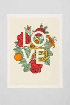 Rachel Caldwell Love art print