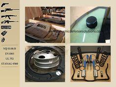 Armoring Kit B6 / B7 / STANAG 4569 * Armored Vehicle Steel Set * Bullet Proof Glass Set * Heavy Duty Door Hinges * Heavy Duty Suspension * Run-flats * Heavy Duty Brakes * Carpet & Vinyl * Consumable