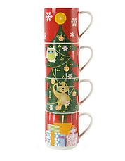 Holiday mug set! #hotcocoa #cocoa #hotchocolate #coffee