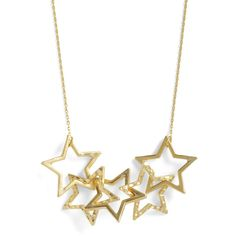 Few and Star Between Necklace ($20) ❤ liked on Polyvore