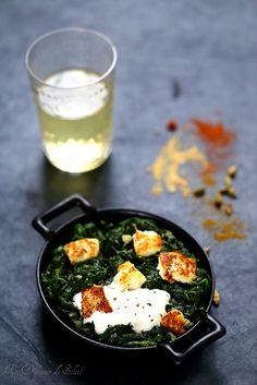 Un dejeuner de soleil: Palak paneer ou les épinards à l'indienne