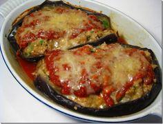 Ciao Chow Linda: Stuffed Eggplant