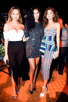 Chrissy Teigen, Chanel Iman & Zendaya